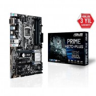 ASUS H270-PLUS DDR4 USB 3.0 VGA DVI HDMI 1151p