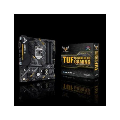 ASUS TUF B360M-PLUS GAMING DDR4 DVI-D HDMI 1151v2