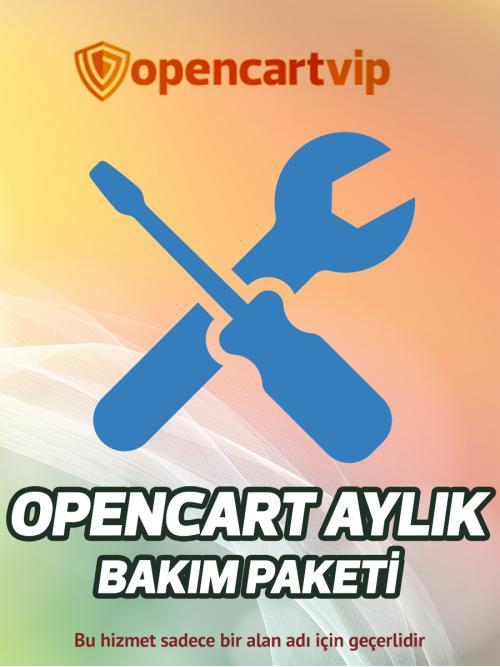 Opencart Aylık Bakım Paketi