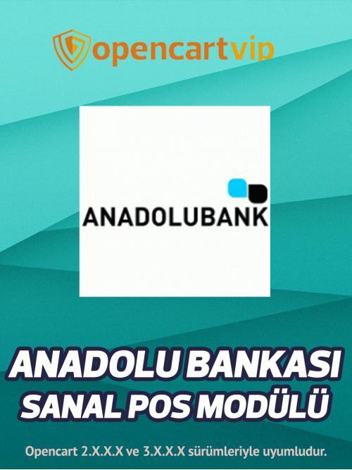 Anadolu Bankası Sanal Pos Modülü
