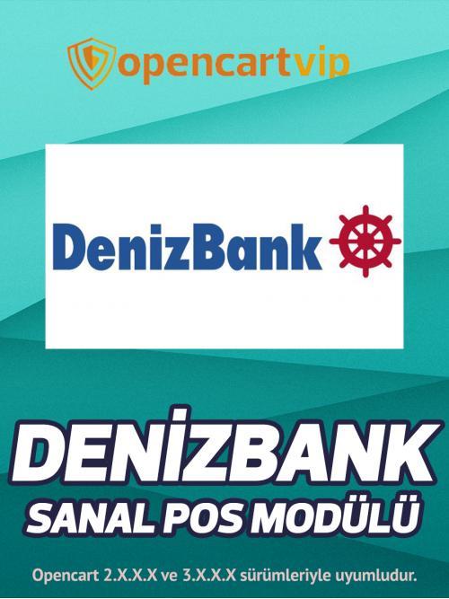 Denizbank Sanal Pos Modülü