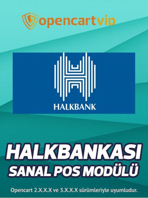 Halk Bankası Sanal Pos Modülü
