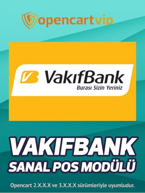 Vakıfbank Sanal Pos Modülü
