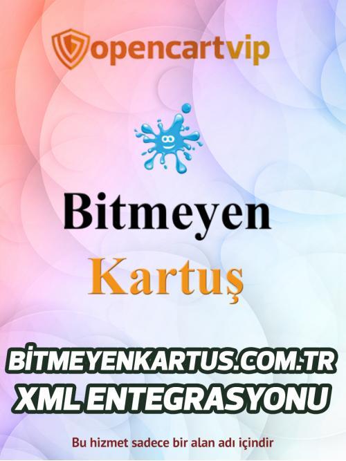 Bitmeyenkartus.com.tr Opencart Xml Entegrasyonu