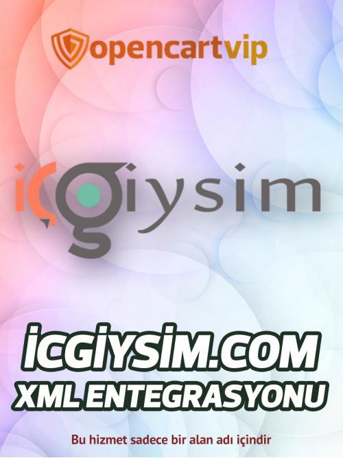 İçgiysim.com Opencart Xml Entegrasyonu