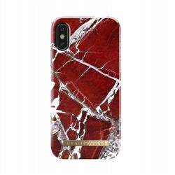 iDeal of Sweden iPhone X Scarlet Red Marble Arka Kapak