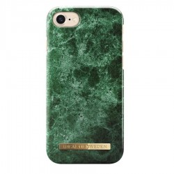 iDeal of Sweden iPhone 8/7/6/6S Green Marble Arka Kapak