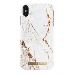iDeal of Sweden iPhone XS MAX Carrara Gold Arka Kapak
