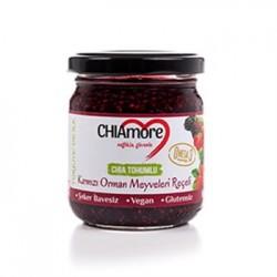 Chia Tohumlu-Kırmızı Orman Meyveleri Reçeli (240 gr) CHIAmore