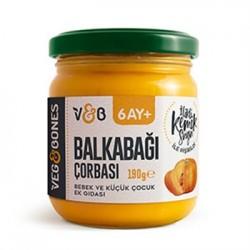 Doğal Balkabağı Çorbası (190 gr)VegandBones
